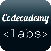 Codecademy labs link